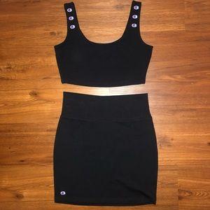 Champion skirt set